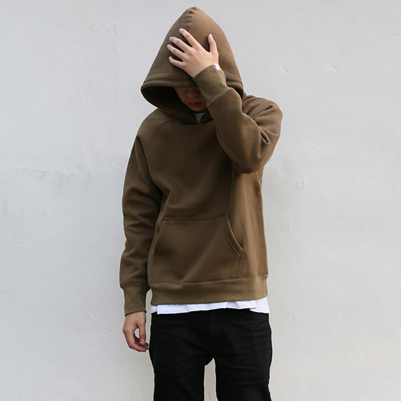 0122567ae51dc Gray Army Green hedging hooded Sweatshirts yeezy season   kanye west Hoodies