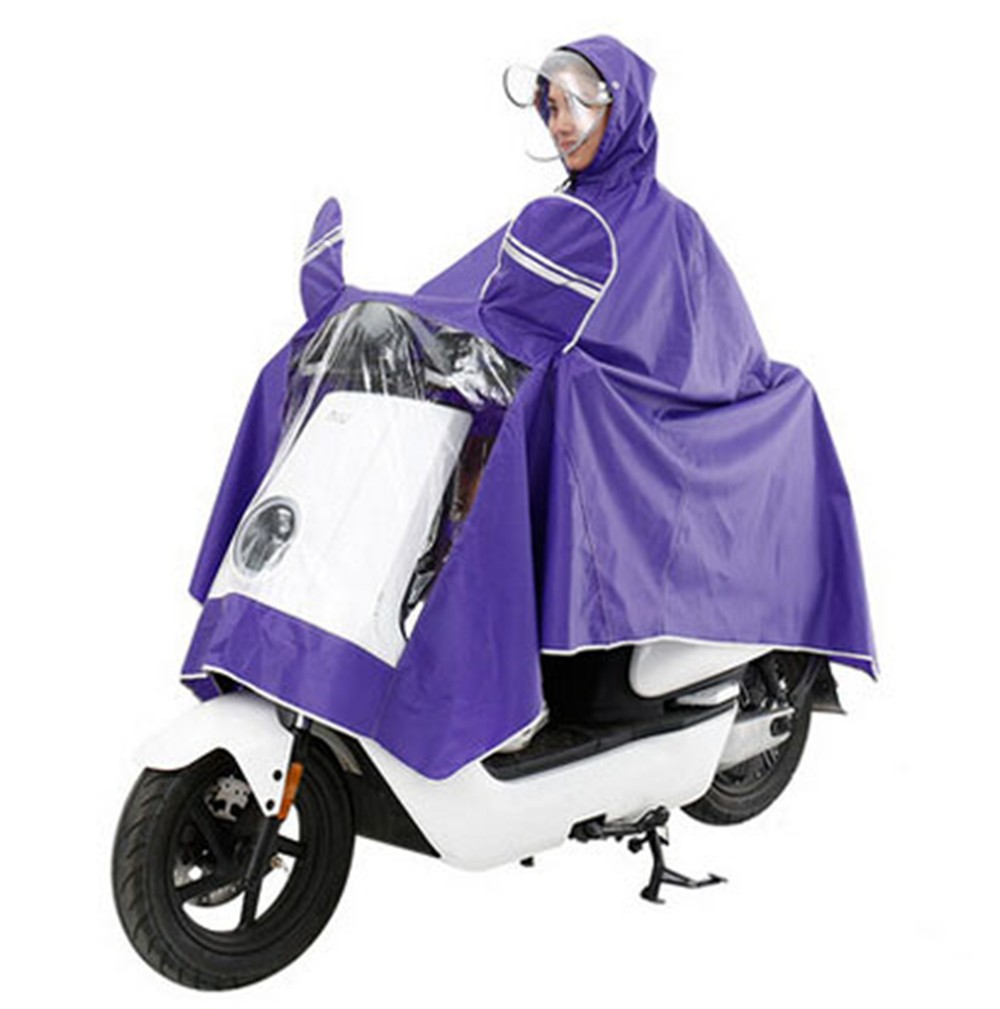 Extra Large Raincoat Lengthen Windproof Waterproof Motorcycle Raincoat Cover Cape Rain Poncho Raincoat Women Raincoat Men
