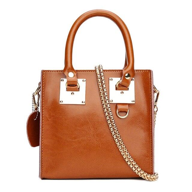 Aolida Genuine Leather Bag Women Handbag Famous Designer Shoulder High Quality Crossbody Bags For Handbags