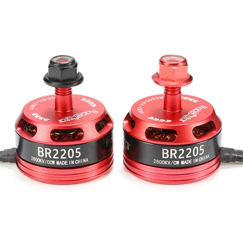 Nueva llegada racerstar Racing Edition 2205 br2205 2800kv 3000kv 2-4 s sin escobillas Motores para x180 x210 x220 FPV racing drone RC Juguetes