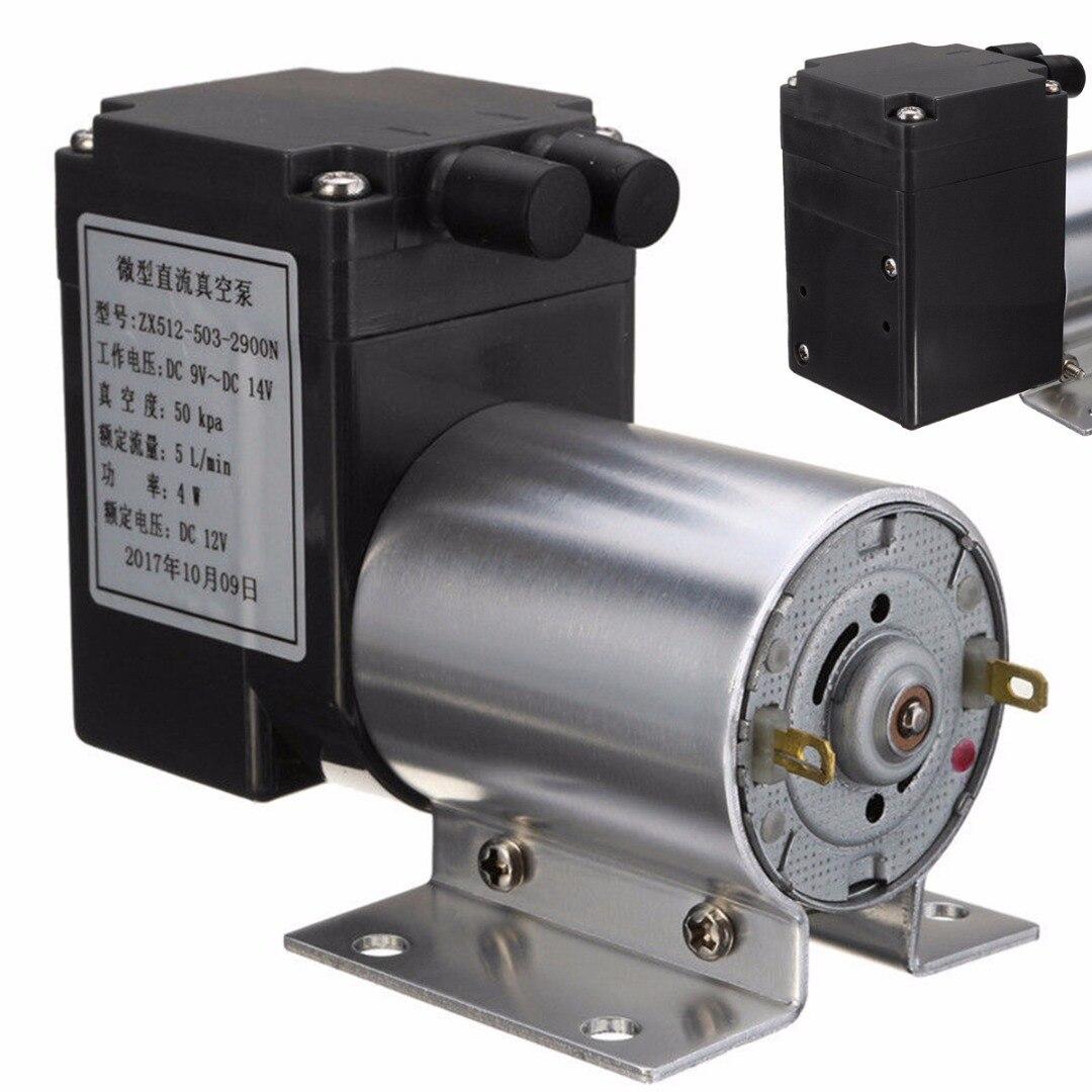 Pumpen, Teile Und Zubehör Neue Dc 12 V Mini Vakuumpumpe Elektrische Vakuumluftpumpe Unterdruck Saug 5l/min 80kpa Für Zuhause Appliance Pumpen