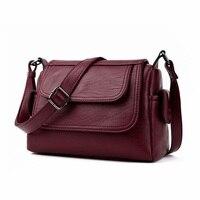 Women Famous Brand 2017 Summer Fashion Crossbody Bags Single Shoulder Bags Ladies PU Leather Bags Women
