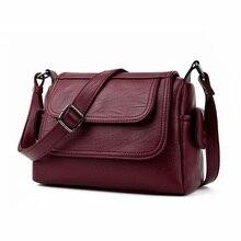 Frauen berühmte marke Aus Echtem Leder Crossbody Taschen Einzelne Schulter Bags Damen Taschen Frauen Handtaschen Sac ein Haupt Femme
