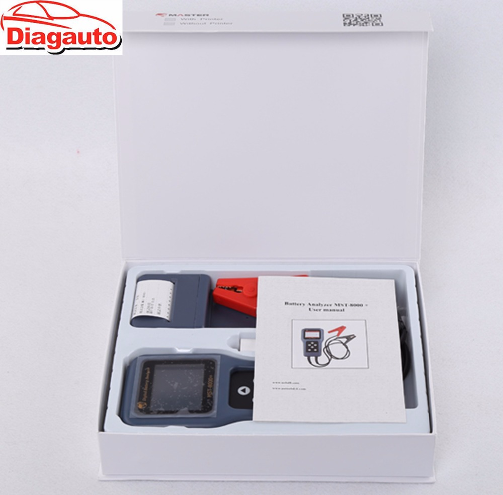 MST-8000+ Digital Battery Analyzer Tester Can Used to Detect Different Kinds of