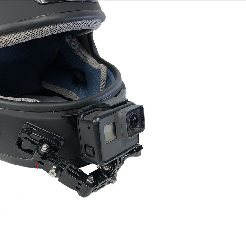 Helmet Curved Adhesive Side motorcycle bike Mount for GoPro Hero 8 7 6 black go pro SJCAM Xiaomi Yi 4K Action Camera Accessories