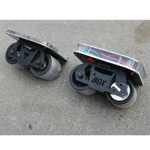 Электрический скейтборд 70 мм колеса Электрический Дрифтинг доска 20 км/ч 150 Вт Мотор скейтборд 2200 мАч мотор