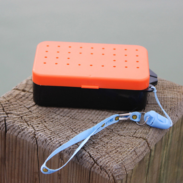 2 Compartments Fishing Box
