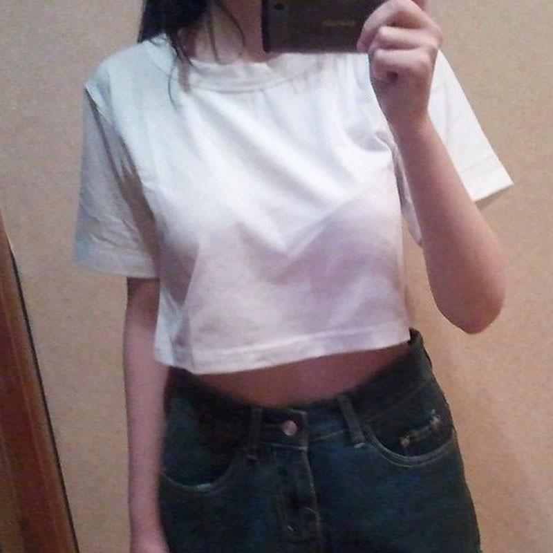 HTB1PBbQIpXXXXbmaXXXq6xXFXXXK - Harajuku T Shirt Women Casual Crop Top JKP103