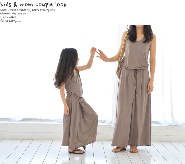 Imysa family fashion spring 2013 clothes for mother and son family pack modal one-piece dress