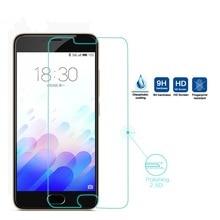 2.5d высокое ясное закаленное стекло для meizu m3 mini/meizu m3s mini телефон 5.0 дюймов высокое качество 9 h защитная крышка экрана