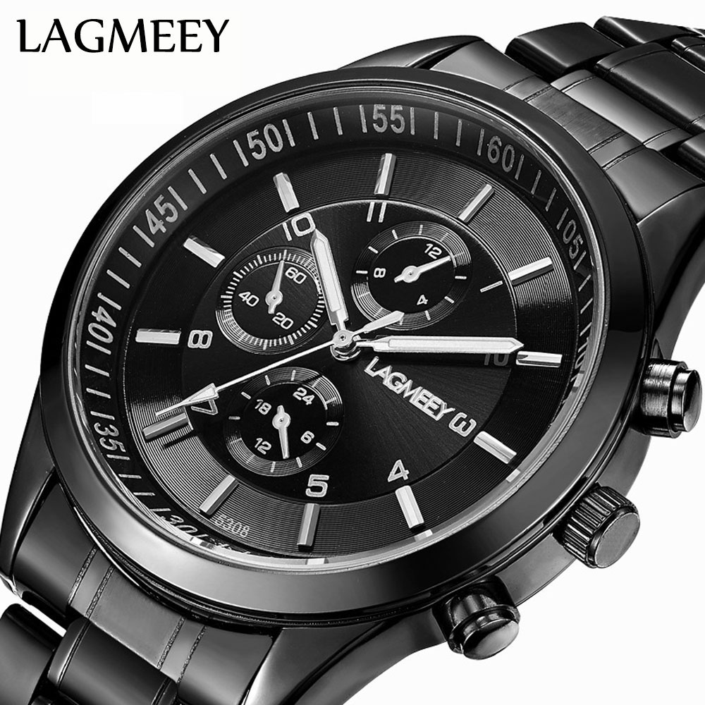 Men's Watches Glorious Reloj Hombre Fashion Men Watch Alloy Synthetic Leather Analog Quartz Sports Watch Watches Man Top Luxury Brand Masculino Reloj