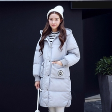 Women Winter Coat Thicken Warm Down Cotton Long Jacket for Woman Coat Parkas Hooded Fashion Cotton