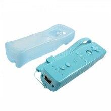 Blue Motion Сенсор пульт дистанционного управления+ проводной Nunchuck комбо для консоль Nintendo Wii