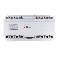 100A 4 poles 3 phase automatic transfer switch ats without controller