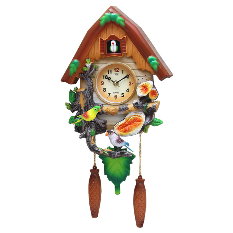 Crafts Arts Home Decoration Cuckoo Clock Cartoon Clock
