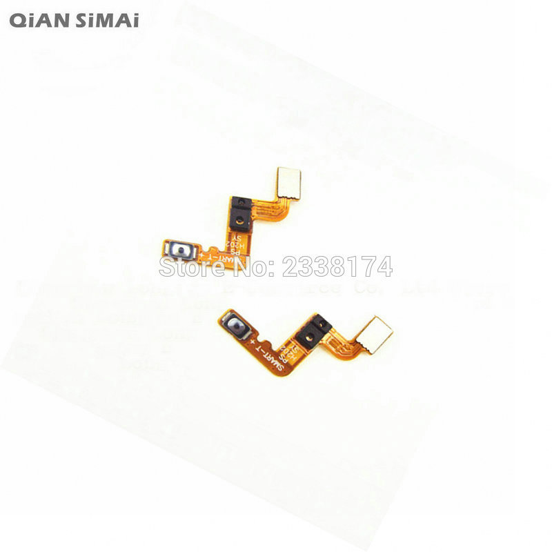 QiAN SiMAi For Lenovo S898T New Power On/Off Button Flex Cable Repair Parts