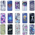 15 modelos caso pintura luxo 3d para casos de apple iphone 5s iphone5 tampa da pele frete grátis