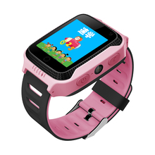 2017 New Q528 Y21 Touch Screen Kids GPS Watch
