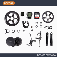 36V500W C965 BBS02 8fun Bafang Mid Crank Drive Motor Ebike Kit 36V 14 5Ah Lithium Ion