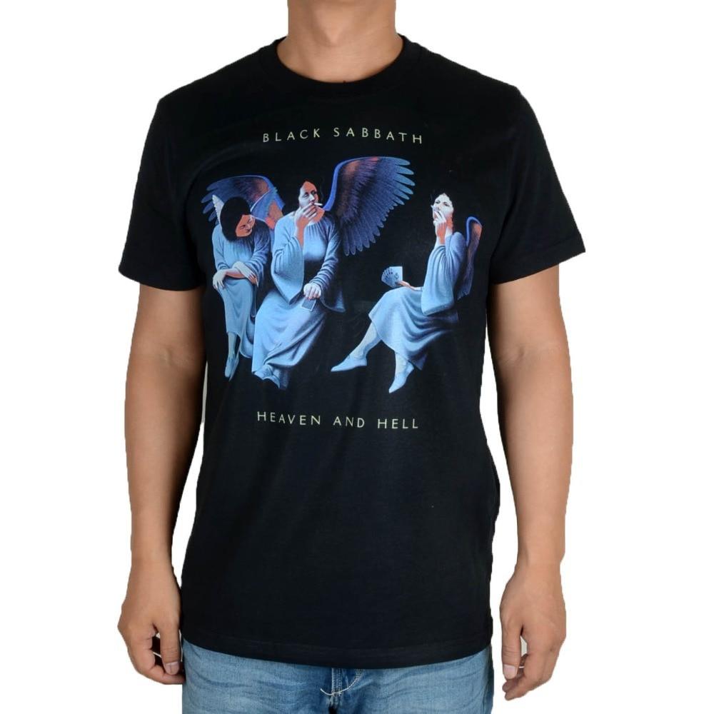 Black sabbath t shirt xxl - Free Shipping Black Sabbath Heaven And Hell Black Men S New T Shirt