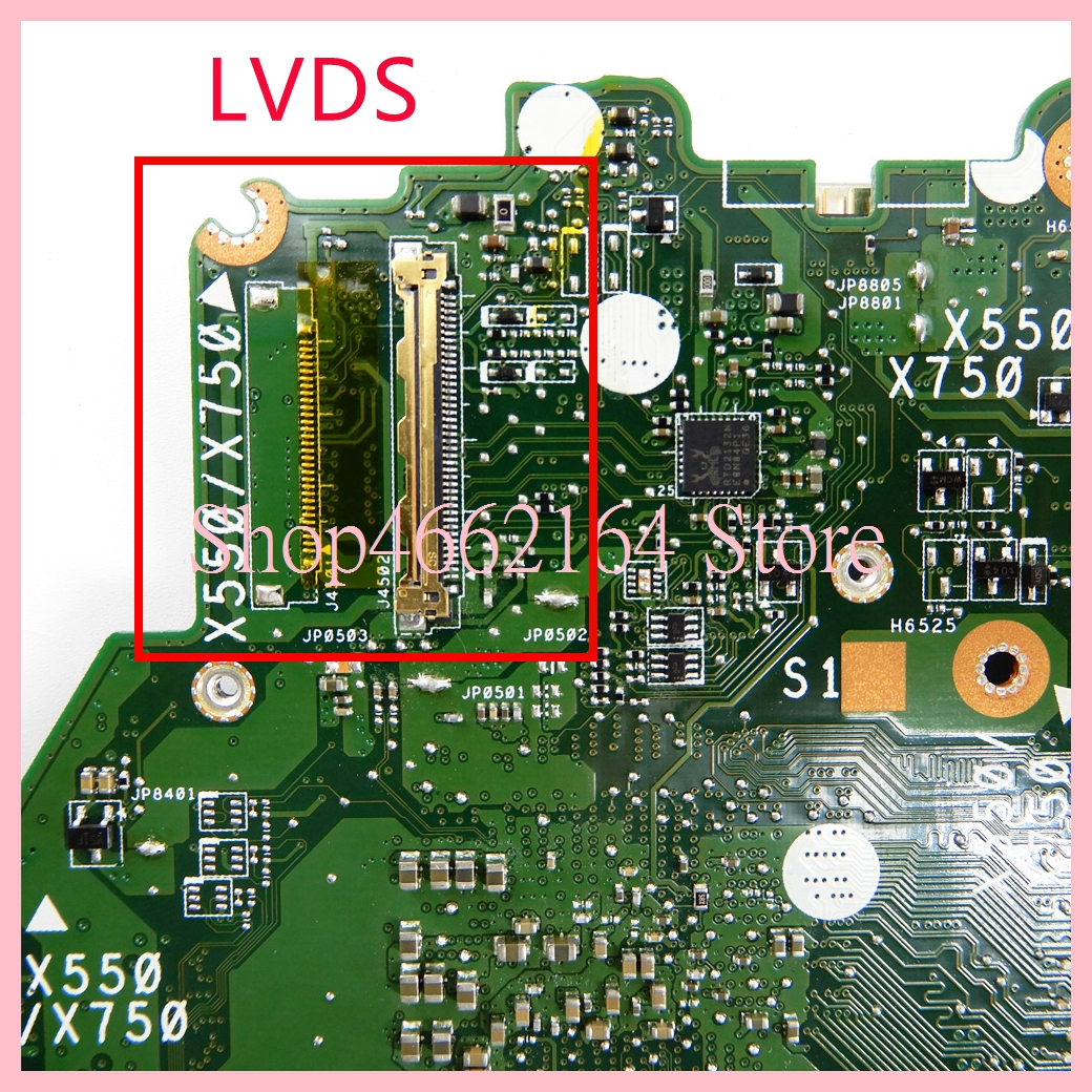 Image 3 - X550ZE motherboard REV2.0 For ASUS X550ZE A10 7400CPU Laptop motherboard X550 X550Z X550ZA Notebook mainboard fully tested-in Laptop Motherboard from Computer & Office