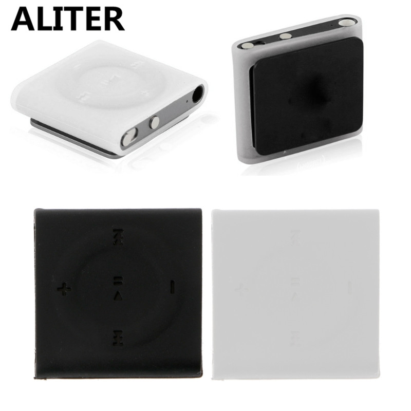 Transparent MP3 Case for iPod Shuffle 4 6 7 Soft Silicone Protective Skin Cover Sleeve Case image
