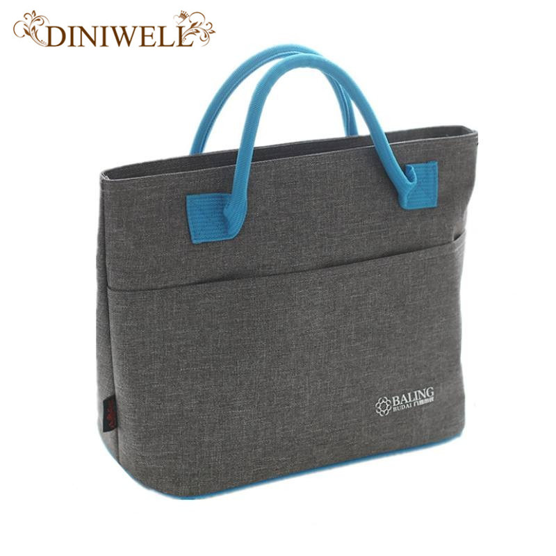 Mummy Shoulder Thermal Insulated Lunch Bag Organizer Picnic Food Fresh Storage Thermal Insulation Cooler Bag