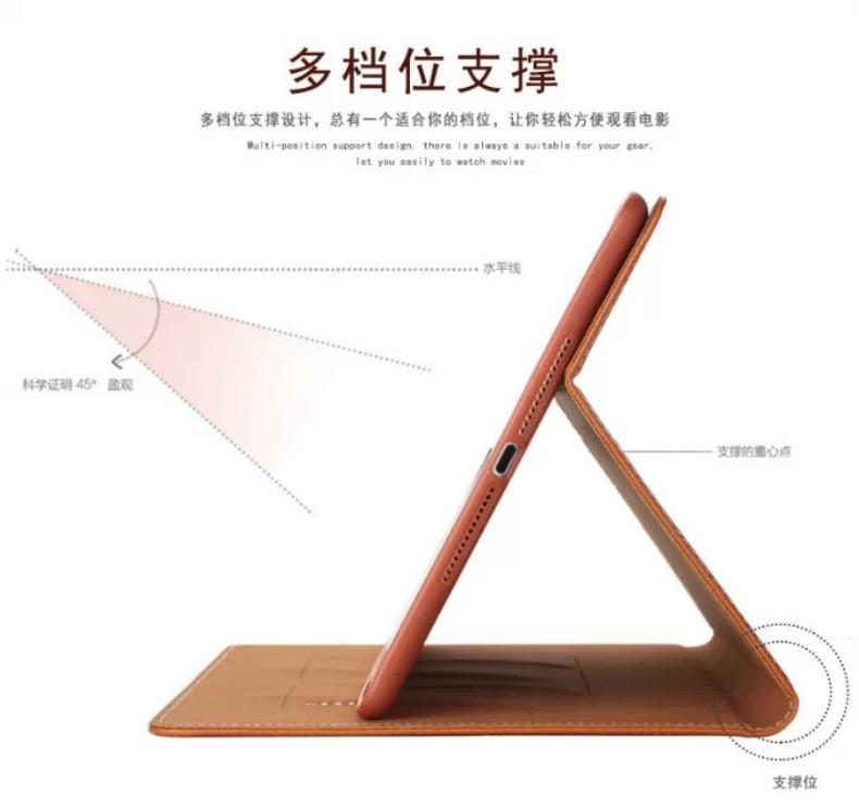 Business Flip Stand PU nahast ümbris iPad Air 2 iPad 6 Smart Cover - Tahvelarvutite tarvikud - Foto 5