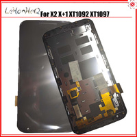 For Motorola MOTO X2 XT1092 XT1095 XT1097 LCD Display Touch screen Digitizer Assembly For MOTO X+1 with Frame