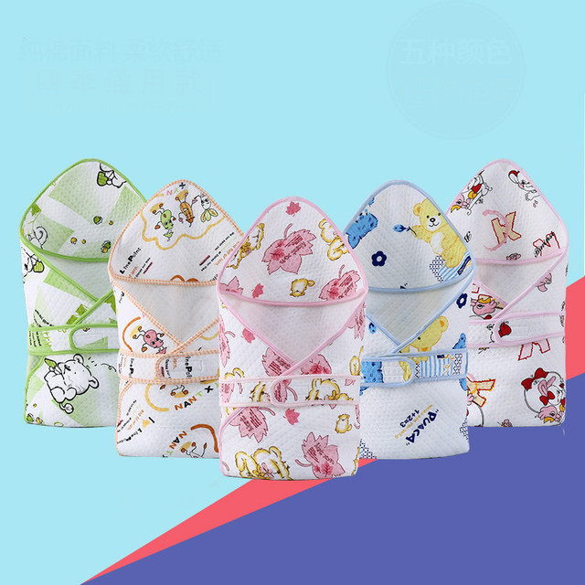 2016 Sales First Newborn Infant Healthy Natural Cotton Towels Blankets Fall And Winter Plus Thick Velvet Quilt Baby Blankets