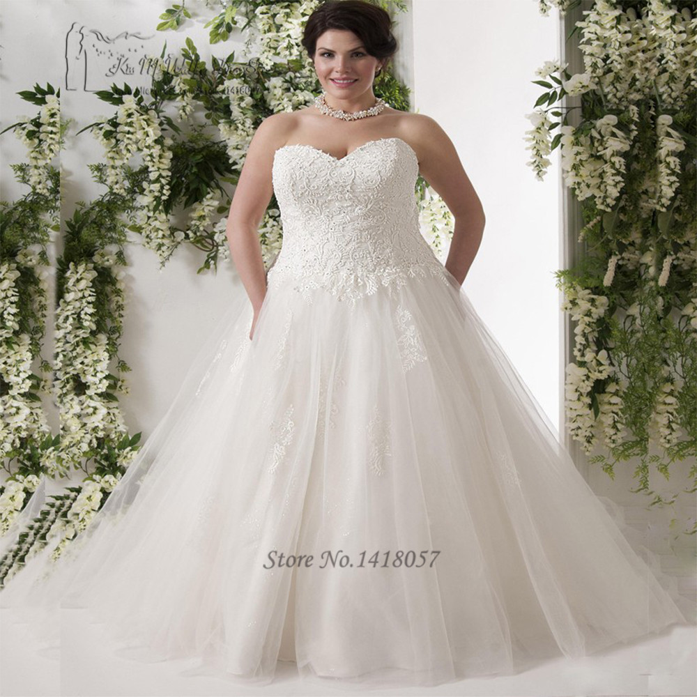 Vestido de noiva branco plus size wedding dress corset for Corset for wedding dress plus size