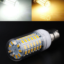 цены 10 X B22 6W 520lm 3000K-6000K 69X5730SMD LED Warm White or White Light Corn Bulb Lamp Bulb 360 degrees (AC 220-240V)