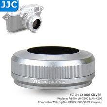 JJC parasol de lentes de Metal, anillo adaptador de tornillo de 49mm para FUJIFILM X100, FUJIFILM X100S, FUJIFILM X100T, cámara sustituye a Fuji LH X100