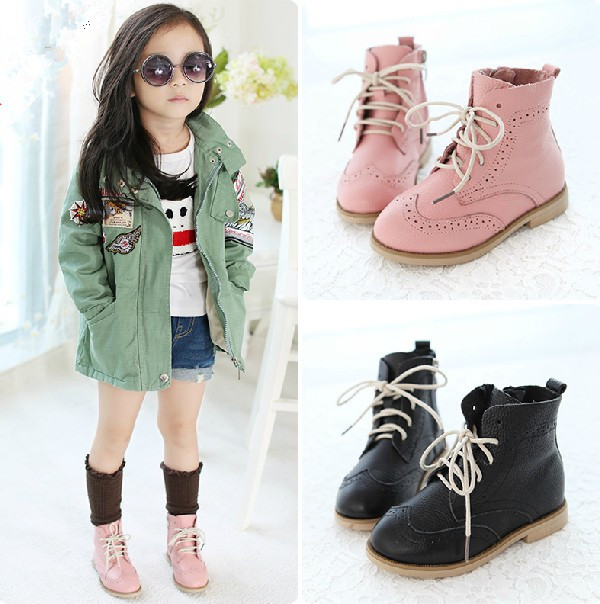 brand new boots 2014 fashion childrens martin botas kids