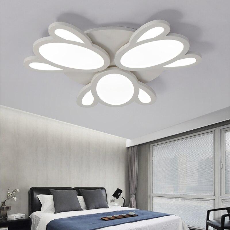 Moderne Plafond Deckenleuchte Drahtlose Lichter Schwarz Leuchten