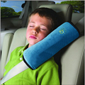 Tampa do cinto de segurança cinto de segurança do carro conjuntos almofada ombro criança alongar caricatura assento de carro ombro cinto almofada travesseiro para dormir