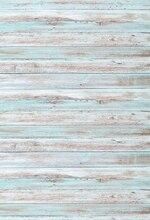 HUAYI madeira cenários de fotografia Cenário vinil piso de madeira Pano de Fundo adereços Recém-nascidos Fotografia Fundos madeiras kp-345