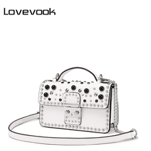 LOVEVOOK luxury handbags women shoulder crossbody bag female