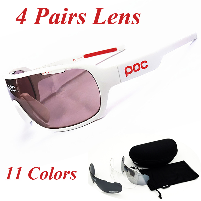 Prix pour Poc lunettes 2017 new polarisées vélo lunettes vélo de montagne vélo lunettes hommes femmes lunettes de soleil vélo gafas ciclismo