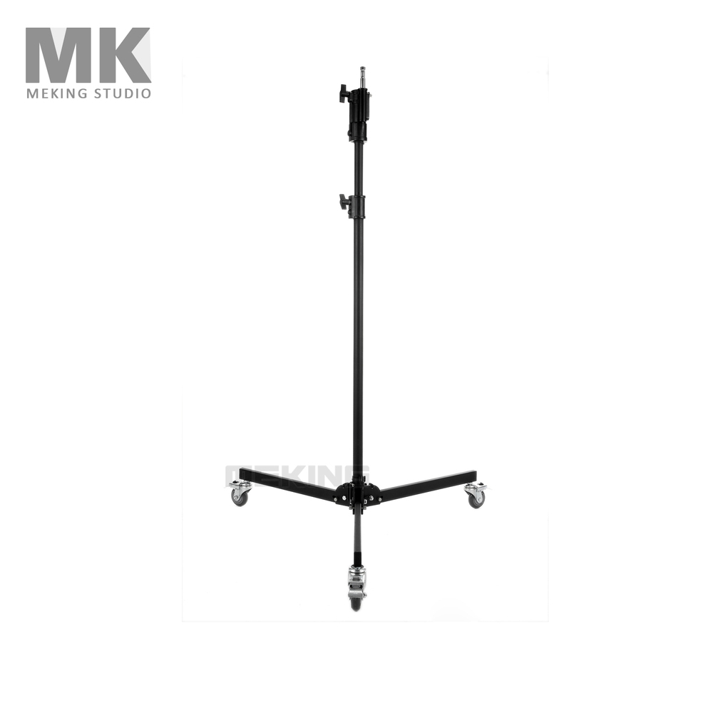 Photo Studio Video Light Stand Lighting support system with Wheels 220cm/7.2ft MF-6880B photographic lighting led film light nicefoto mf 2000f video photo studio flash light lamp power 200w 5500k with dc ac input