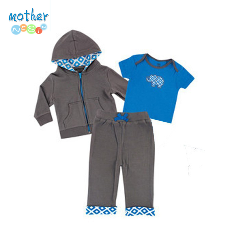 2016 Baby Boys Clothing Set Spring Summer Children's Clothing Sets Sports and Leisure suits 0-2 year Baby Clothing Set 3 pieces promotion 6pcs baby bedding set cot crib bedding set baby bed baby cot sets include 4bumpers sheet pillow