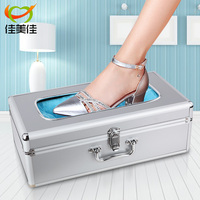 Db7 Automatic Shoe Cover Bootie Dispencer Machine Steel Core Material Aluminium Alloy Shell Frame Ultra Large