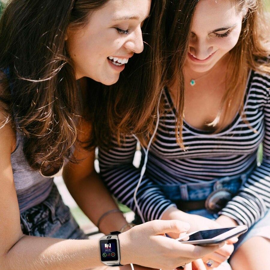 MTK6260 Bluetooth Aplus 036 IPS smart watch Phone 1 54 OGS watches font b SmartWatch b