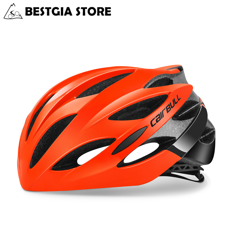 CAIRBULL Cycling Helmet Casco Ciclismo PC+EPS Bicycle Bike Road MTB Helmet Integrally-Molded Ultralight Breathable Safety HelmetCAIRBULL Cycling Helmet Casco Ciclismo PC+EPS Bicycle Bike Road MTB Helmet Integrally-Molded Ultralight Breathable Safety Helmet
