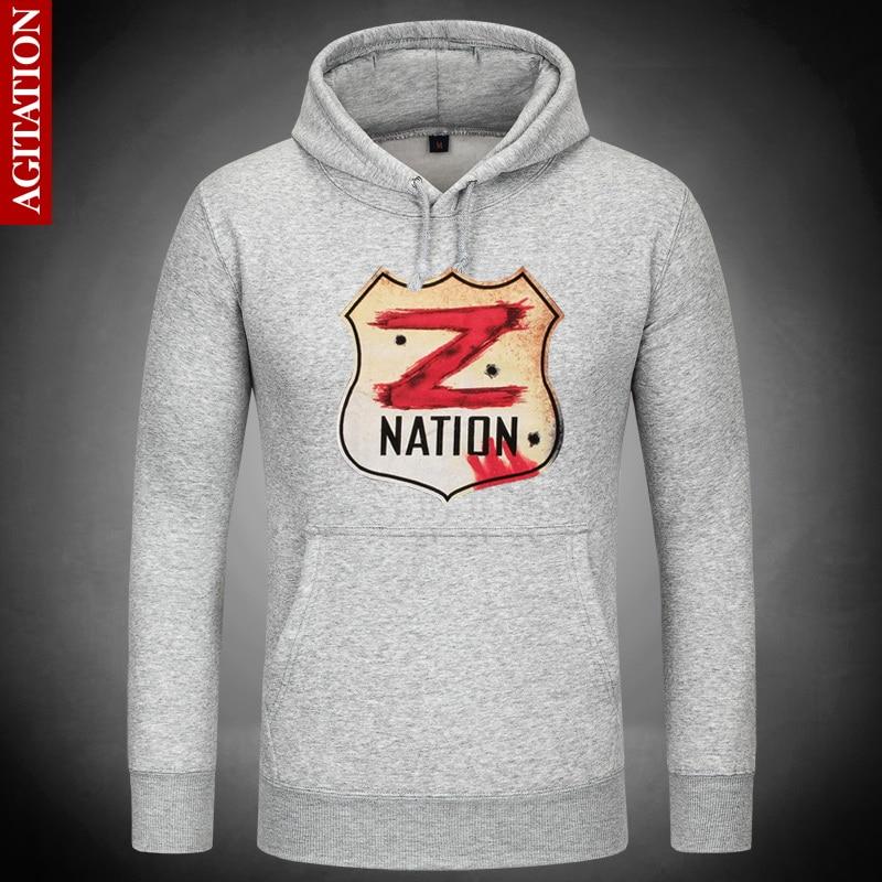 ᗑChaude Z Nation Zombie Hoodies Sweat À Capuche Pull Sweat