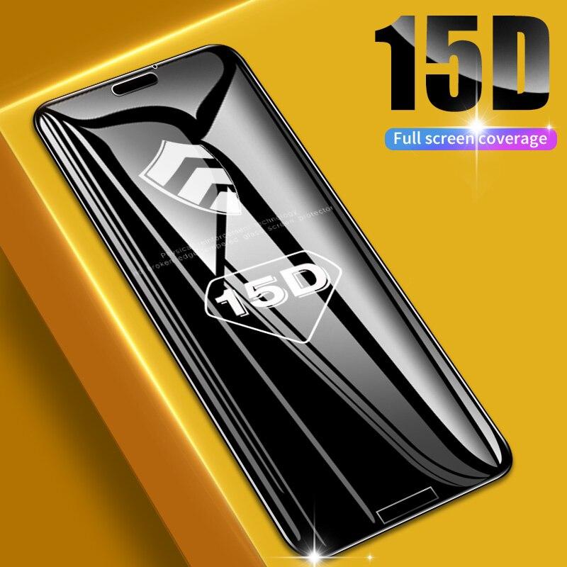 15D מלא כיסוי מזג זכוכית עבור Huawei P10 לייט P20 פרו p חכם בתוספת מסך מגן סרט עבור Huawei Mate 10 20 לייט זכוכית