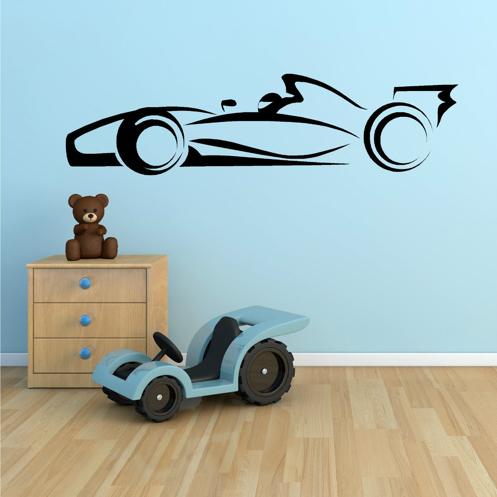 Aliexpress buy g136 one racing car sports car vinyl wall art aliexpress buy g136 one racing car sports car vinyl wall art sticker decal boy bedroom wall stickers art from reliable vinyl wall art suppliers on amipublicfo Images