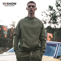 VIISHOW Brand Clothing Turtleneck Sweatshirt Men Hip Hop Fashion Men Clothing Swag Big pocket Hoodies Oversize sudaderas hombre