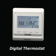 220V Programmable Electric Temperature Controller Digital Thermostat for Electric Floor Heating
