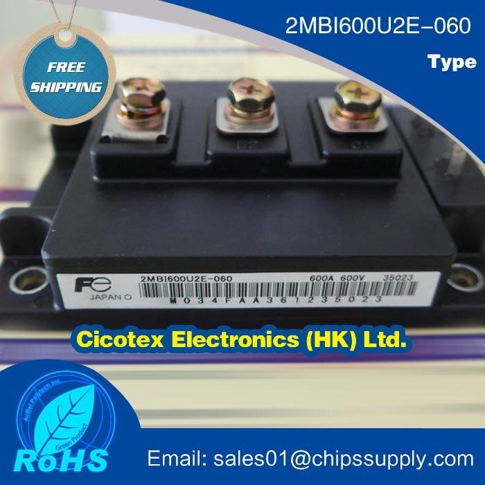 2MBI600U2E 060 MODULE IGBT 600A 600V 2MBI600U2E060